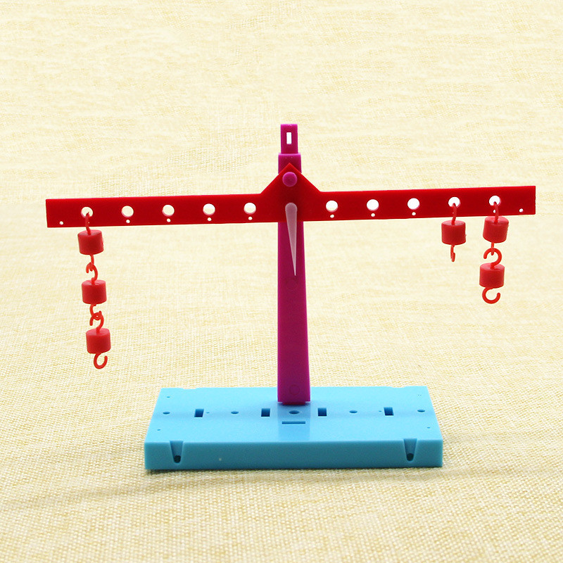 Scale Balance Toys Learn Lever Principle,handmade DIY Science Educational Experiments Toy,best Gifts For Kids Child