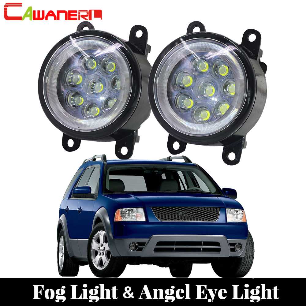 Cawanerl For 2005 2006 2007 Ford Freestyle SEL Car Light Styling LED Fog Lamp Angel Eye Daytime Running Light DRL 12V 2 Pieces беговая дорожка bh fitness sx pro g6432r