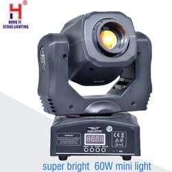 Super jasne 60W mini led spot reflektor z ruchomą głowicą gobo ruchome reflektory światła chiny|Oświetlenie sceniczne|Lampy i oświetlenie -