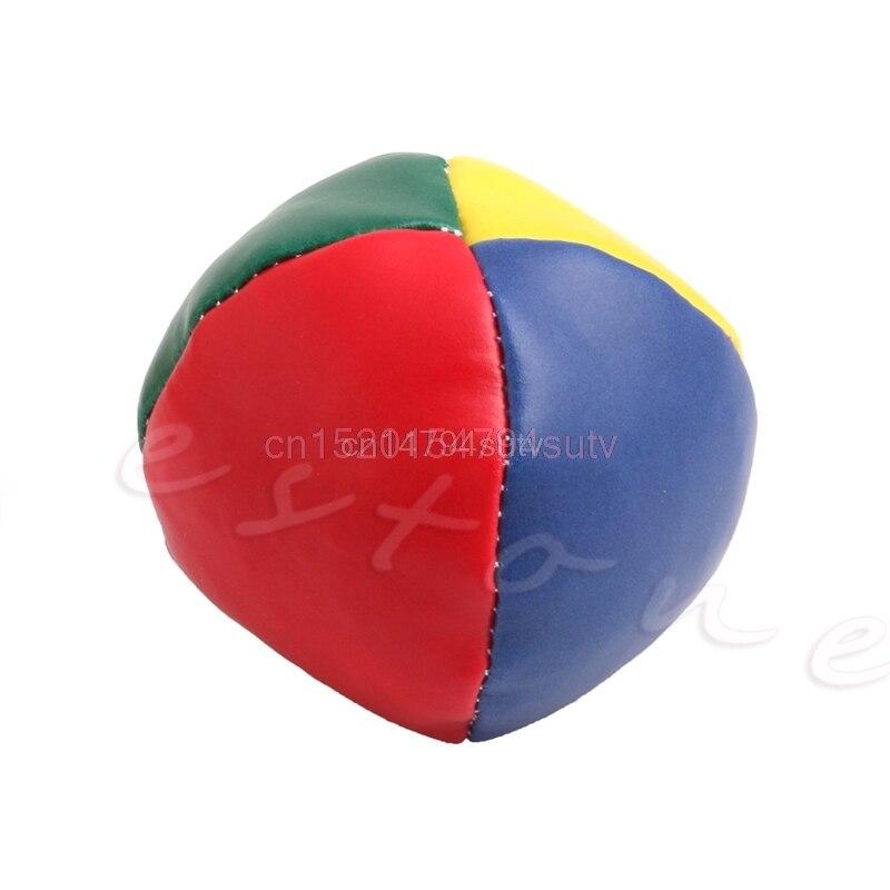 BALL 1Pc Juggling Balls Set Classic Bean Bag Juggle Magic Circus Kids Toy Gift New