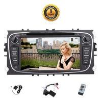EinCar для Ford Focus 7 ''Android 7,1 автомобилей Радио Стерео Bluetooth 2 г + 32 г gps навигации двойной 2 Din в головное устройство Dash DVD CD