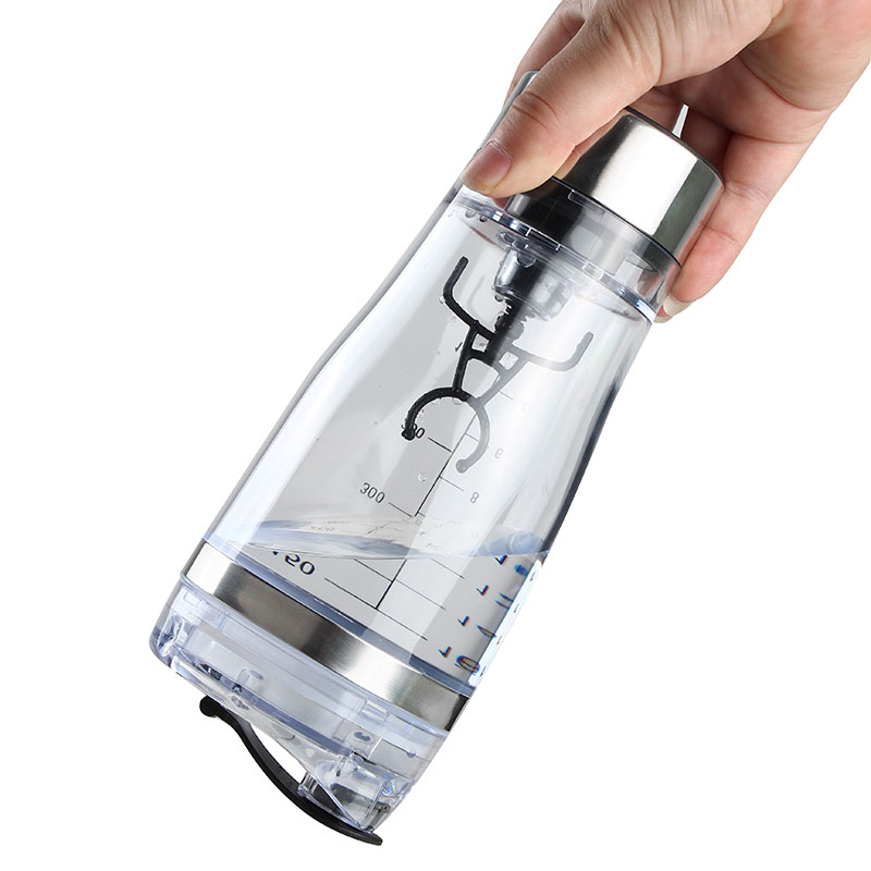 SDFC-Portable Vortex Electric Protein Shaker Mixer Bottle Detachable Cup