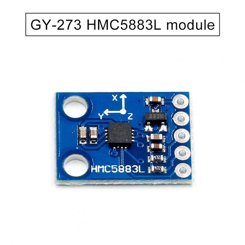 1pc GY-273 HMC5883L Module 3 Triple Compass Magnetometer Sensor Module EM88
