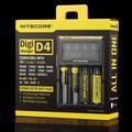 18650 Зарядное Устройство Nitecore D4 Digicharger ЖК-Дисплей Интеллектуальный 2.0 Fit Литий-Ионный 18650 14500 16340 26650