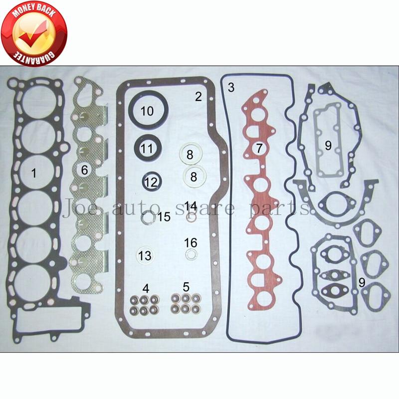 5 M 5me Moteur Complet joint ensemble kit pour Toyota Cressida/Couronne 2759cc 2.8L 1980-1985 04111-43010 04111-43012 04111-43011