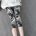 Women Pants for Women 7 Leggings Summer Style Microfiber Soft with Print High Elastic Cartoon Print Milk Silk leggings