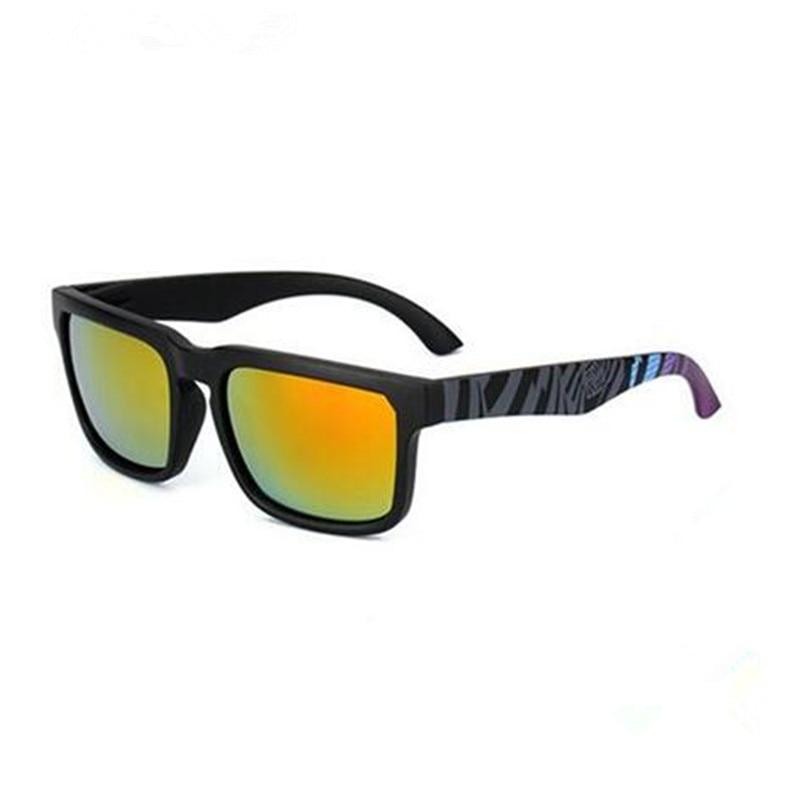 2018 Ken Block Quadratischen Rahmen Männer Frauen Marke Designer Reflektierende Beschichtung Sonnenbrille Goggle Platz Entdeckte Sonnenbrille Männlichen Uv400