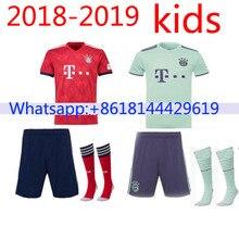 dd94d4e4c64 2018 2019 Bayernes Muniches kids jersey 18 19 Home Away football camisetas  Thai AAA shirt survetement football Soccer jeHot for