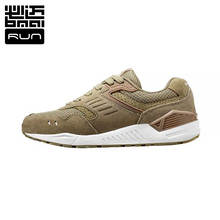 2016 Bmai Men Running Athletic Shoes Genuine leather 3D mesh Retro Sneaker 3M authentication waterproof Sports Shoes  XRHB003