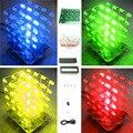 2017 Nueva Luz LED KIT DIY 3d cubeeds Electrónica Kit DIY 4X4X4 envío libre