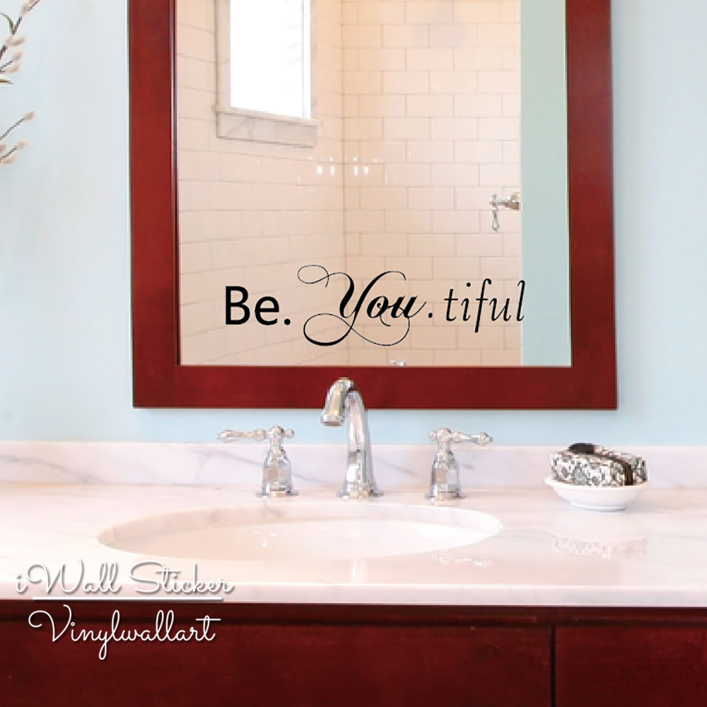 Beautiful Bathroom Quotes online buy wholesale beauty mirror quotes from china beauty mirror