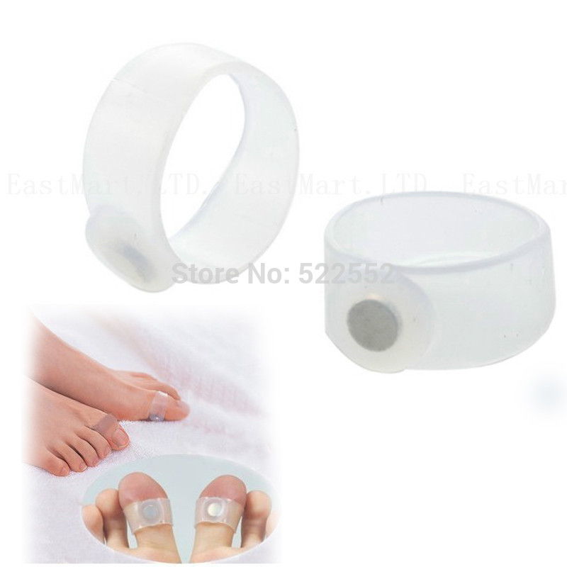 japaness style lose weight acupoint massage as body beauty slimming products for lady magnetic slimming toe ring Free shipping