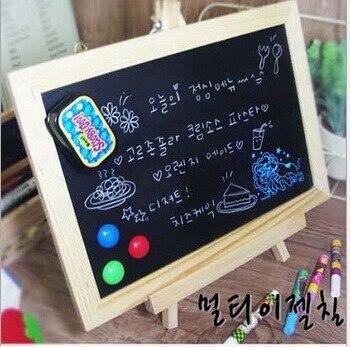 New MDF White Framel Slate Small Blackboard for Nots Office Supplier 20*30cm Home Decorative Chalk Board OWS006