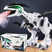 Boys Kids Universal Machine Electric Dinosaur Spray Light Sound Educational Toy 2019 New year Gift for chindren