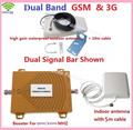 FULL SET Dual Band GSM,3G Signal Booster KIT 2G GSM 900 3G 2100 Cellular Signal Repeater Amplifier GSM 3G Mobile Signal Repeater