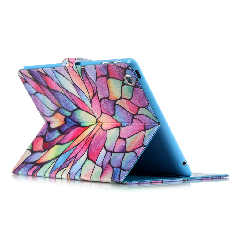Cartoon Leather Case For Apple For Ipad 2 3 4 A1460 Tablet Accessories