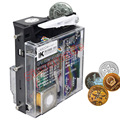 LK-800A + Расширенный Верхний Вход Механический Селектор Монета монетоприемник для Торговых/Игровых Автоматов