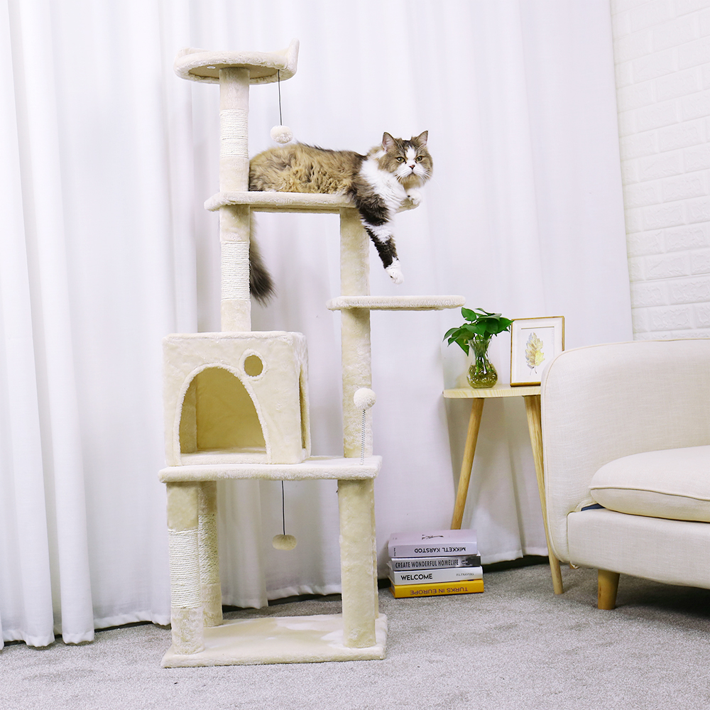 domestic delivery cat toy house bed hanging mouse cat 39 s tree pet scratching post kitten climbing. Black Bedroom Furniture Sets. Home Design Ideas