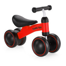 5ace26ad00a Tricycle Kids 3 Wheels Balance Bike Infant 1-3years Scooter Baby Walker Bikes  No Foot Pedal Driving Bike Gift