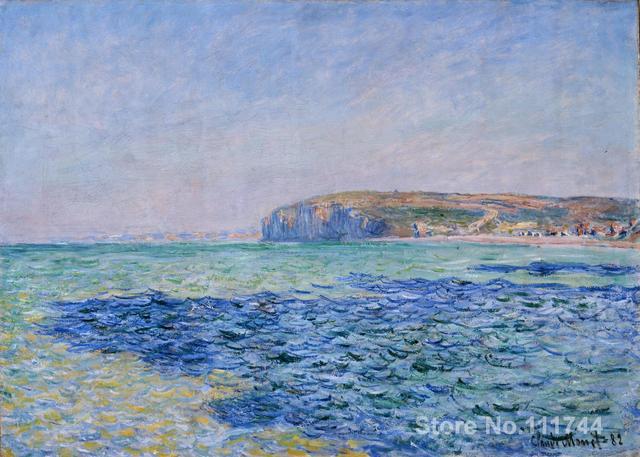 Favoloso Regalo di arte Ombre sul Mare a Pourville di Claude Monet dipinti  QT17