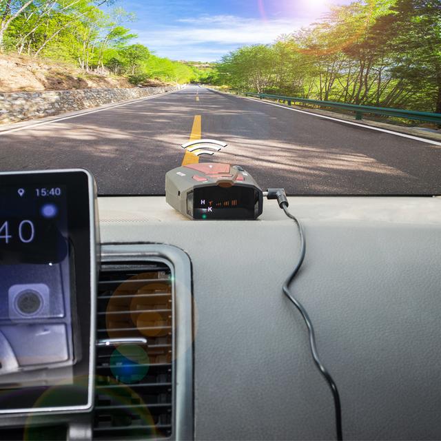 360 LED Car Radar Detector