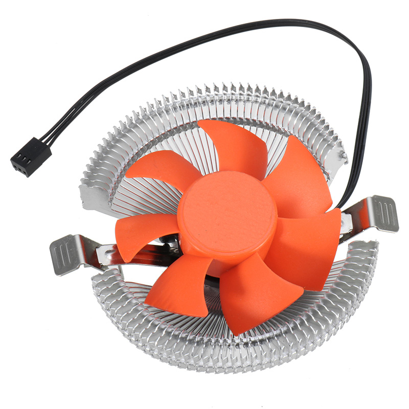 High Quality Computer PC CPU Cooler Cooling Fan Quiet Slient Cooling Heatsink Radiator Fan for intel 775/1155/1156/AMD computer processor radiator blower heatsink cooler fan for asus g55 g55vw g55vm laptop cpu cooling