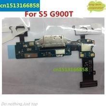 Para Samsung Galaxy S5 G900T Puerto Flex Cable + Cargador, casa Conector y Tecla de Sensor