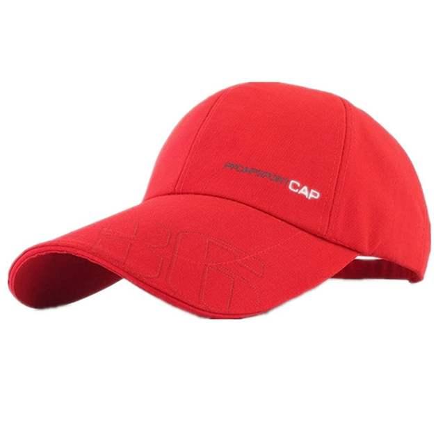 982c02b4c66 Men Women Fitted Curved Bill Plain Solid Blank Baseball Cap Hats Sunbuster  Long Bill Cap Adjustable