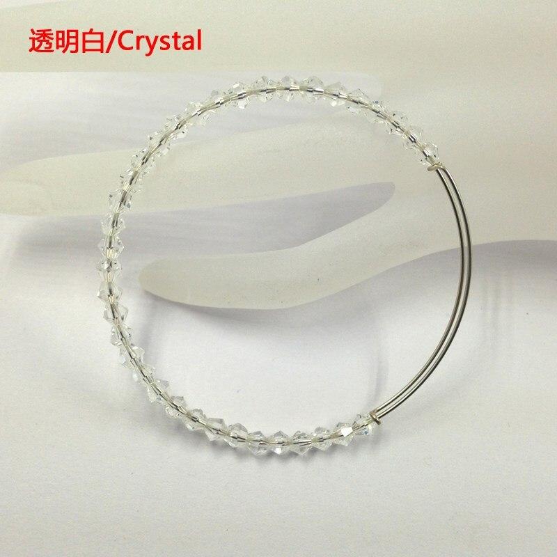 20 teile/los Mix Farbe Einstellen Draht 4mm Bicone Kristall ...