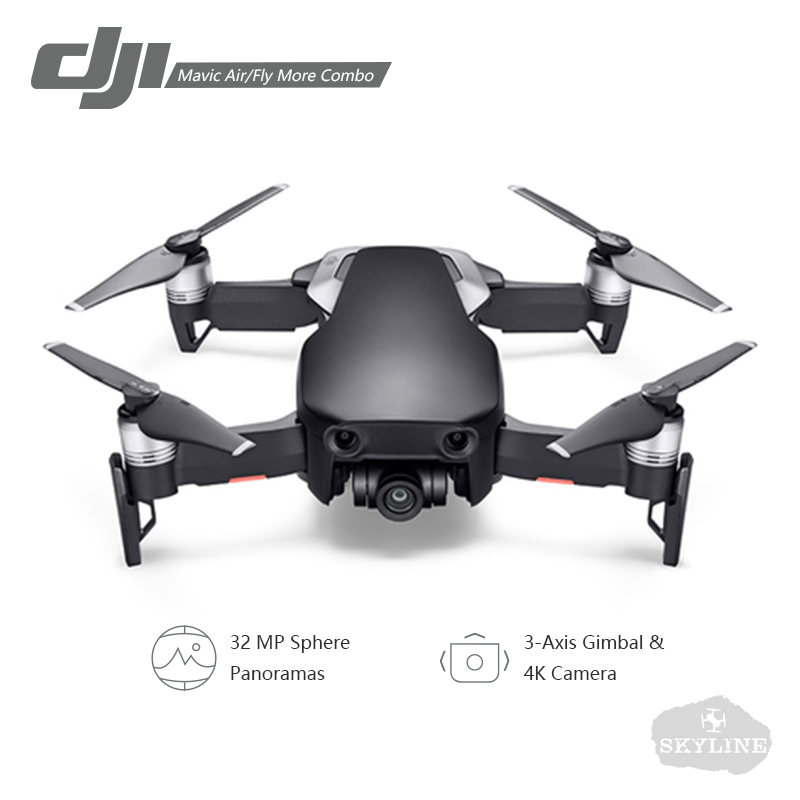 DJI Mavic Air/Mavic Air Fly More Combo drone 4K 100Mbps Video 3-Axis Gimbal Camera with 4KM Remote Control FoldableRC Quadcopter