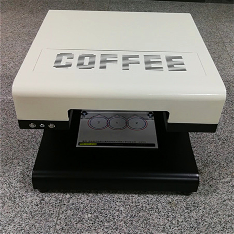 Cappuccino Latte Coffee Printer 3D Digital Printer Machine Computer System Wireless Network Printer Interface