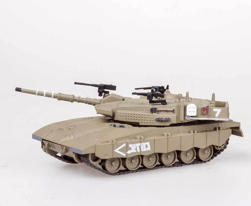 AMER 1/72 Scale Military Model Toys Israel Merkava 3 MK3 Tank Diecast Metal Model Toy For Gift/Collection/Decoration