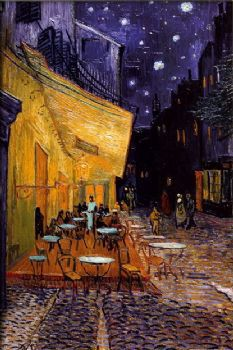 Cafe Terrasse Auf Dem Platz Du Forum Arles Nachts Vincent Van Gogh