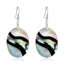 Water Drop Earrings Oblique Stripe Women High Quality Splice Color  Bijoux For Girlfriend Wedding Gift