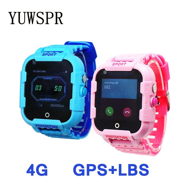 HOT SALE] Smart watch 4G kids GPS tracker IP67 waterproof