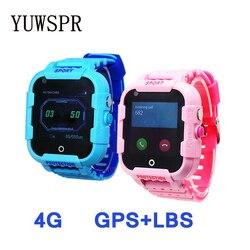 Orologio intelligente 4G gps dei capretti IP67 macchina fotografica impermeabile la mamma ha assicurato WIFI posizione SOS A due vie di chiamata Per Bambini regalo DF39 D
