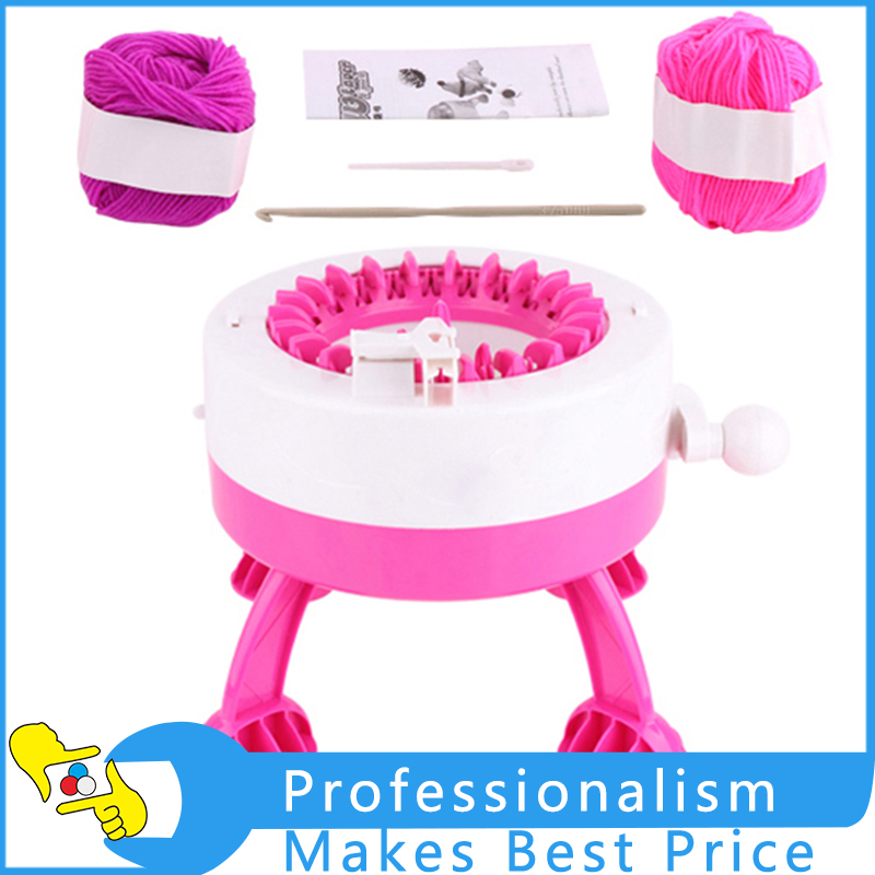 Children Loom Knitting Machine Toy Hat Scarf Weaver Sock Knitter DIY Weaver Tools толстовка toy machine bummed black