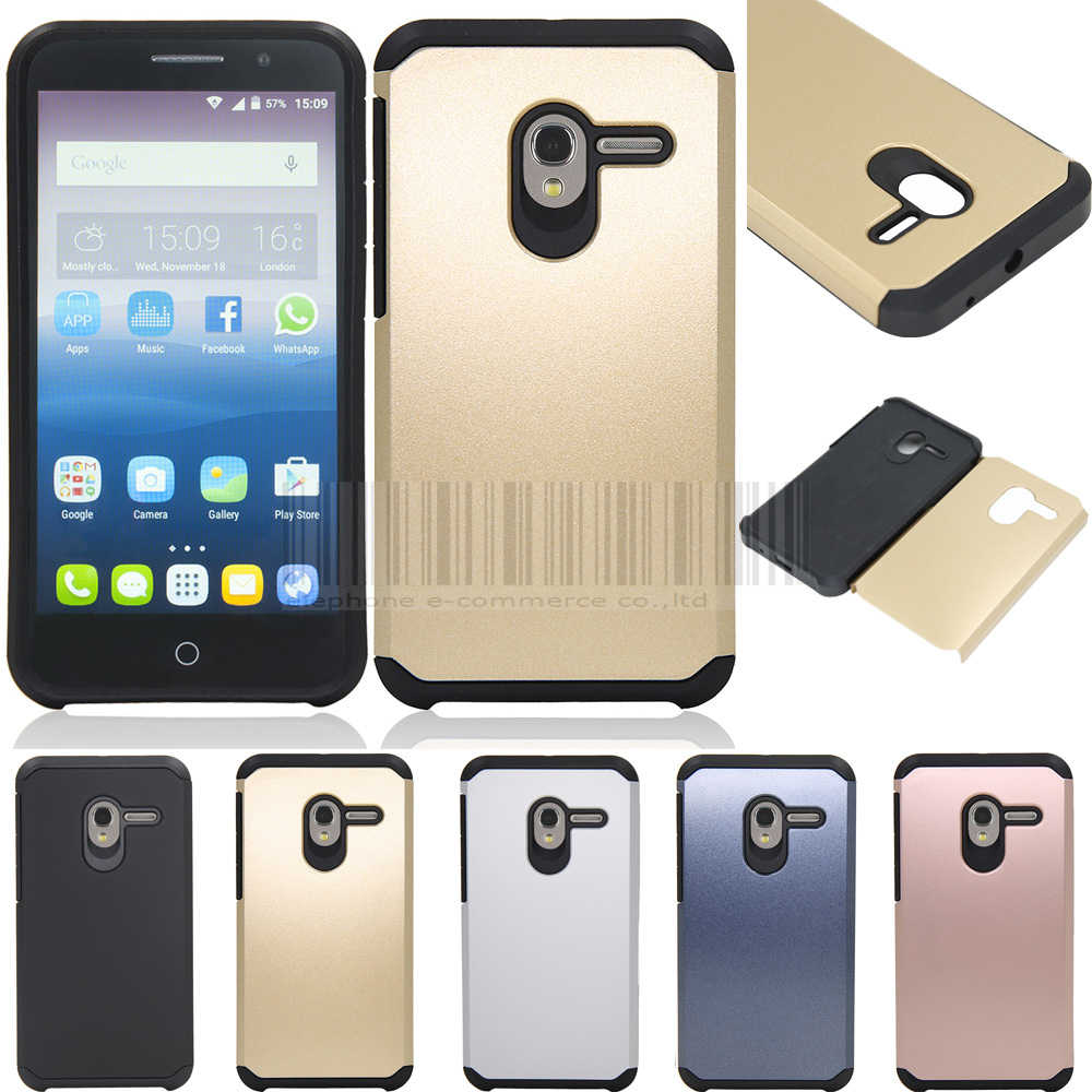 Phone Case For Alcatel One Touch Pop 3 5.0 inch OT5015 5015D 5015A 5015X 5016A Dual Layer Armor Shockproof Hybrid Cover