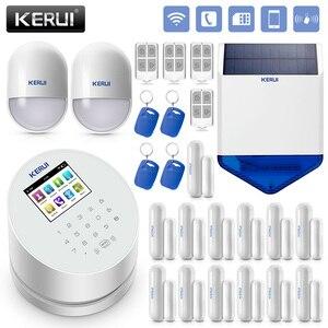 Image 1 - KERUI W2 WiFi GSM PSTN hırsız ev güvenlik Alarm sistemi