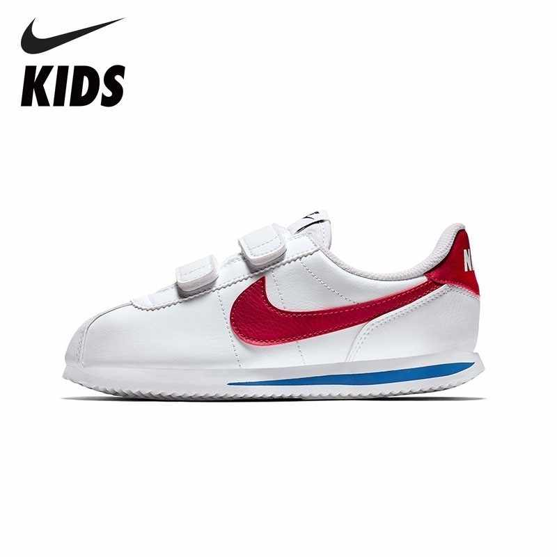 2bb7bf45683d Detail Feedback Questions about NIKE Kids Official Cortez Basic SL Toddler  Kids Running Shoes Sneakers For Boys And Girls 904767 on Aliexpress.com