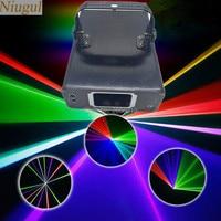 Niugul DMX512 Multi color RGB laser light/dj lights/stage lighting/laser light/laser projector/Linear Beam Effect Fast Shipping