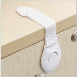 10 pcs ประตูตู้ลิ้นชักตู้เย็นความปลอดภัยพลาสติกล็อคสำหรับเด็กความปลอดภัยของเด็กตารางมุมป้องกัน