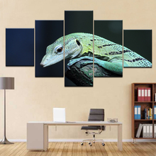 Canvas Art Wall Pictures Frame Home Decor Living Room 5 Panels HD Printed Modular Poster Lizard Modern Oil Painting Artwork