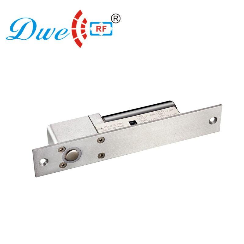 Serrure de porte de contrôle d'accès CC RF basse température serrure de porte invisible à boulon électrique standard
