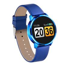 Q8 Smartwatch IP67 waterproof Bluetooth 4.0 smartband Heart Rate ladies Smart watch for Android ios huawei phone pk K88H(China)