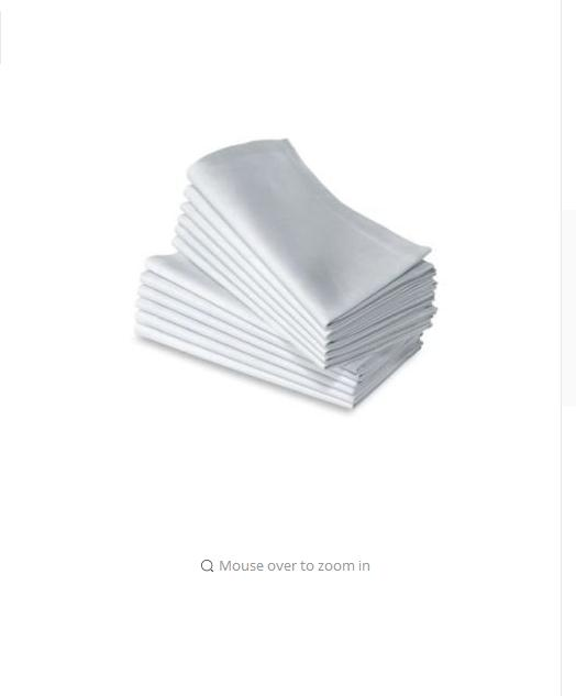 12PC 100% COTTON RESTAURANT DINNER CLOTH LINEN WHITE 20X20 PREMIUM NAPKINS    Product Description For Any Event Take A Step Up I