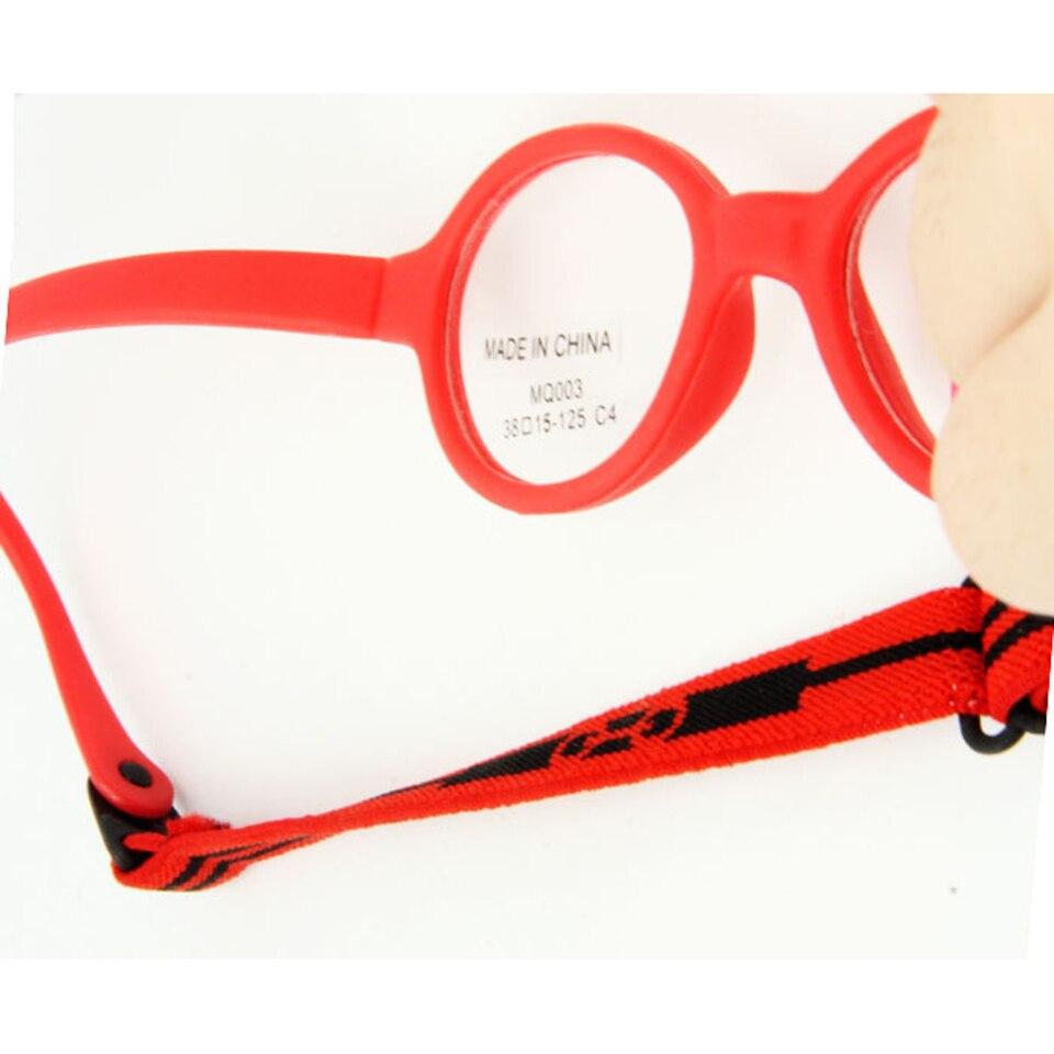 Freies Verschiffen Marke Design Flexible Oval Brillen für Kinder ...