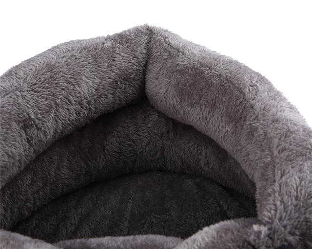 Teplý mäkký pelech pre mačku alebo psa 3farby Warm Soft Bed House for Cat