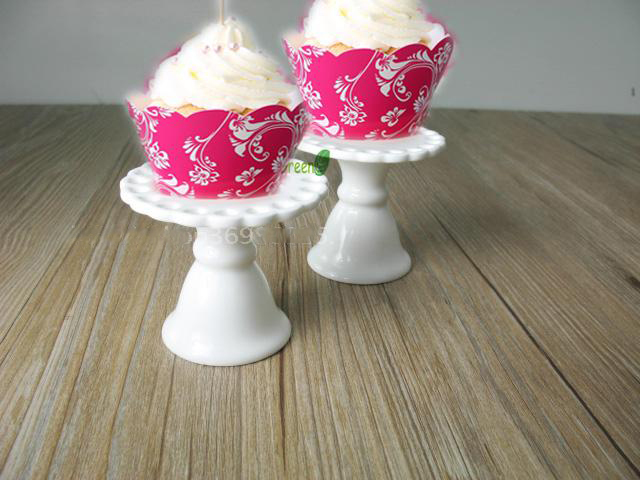mini wedding cakes shipped 2pcs european lace hollow mini ceramic cake pan 17430