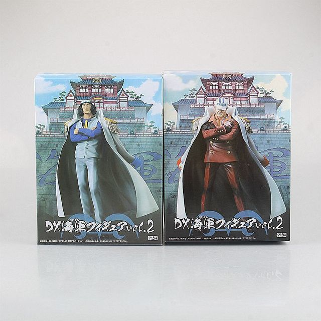 Onepiece Action Figure Collection Navy Headquarters Senior Model
